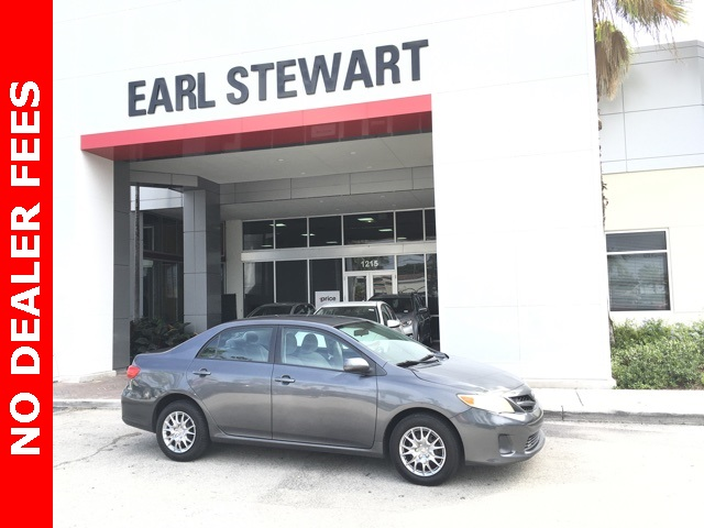 Pre Owned 2011 Toyota Corolla Base 4d Sedan In Palm Beach County